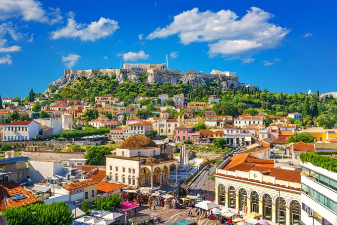 Wellbeing Cafe: Life in Greece