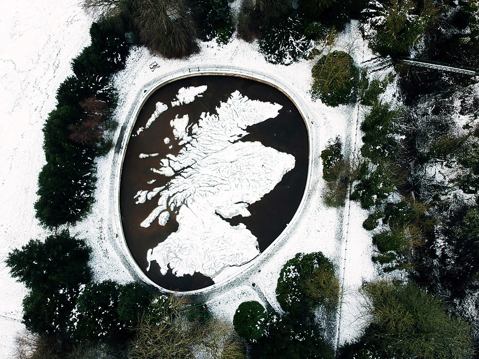 The Great Polish Map of Scotland in Winter