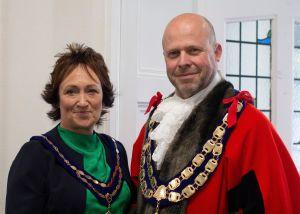 Mayor and Mayoress WsM 2019