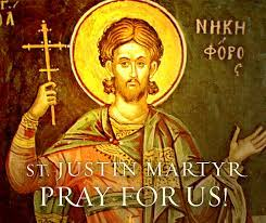 Catholic News World : Saint June 1 : St. Justin Martyr who Died in 165