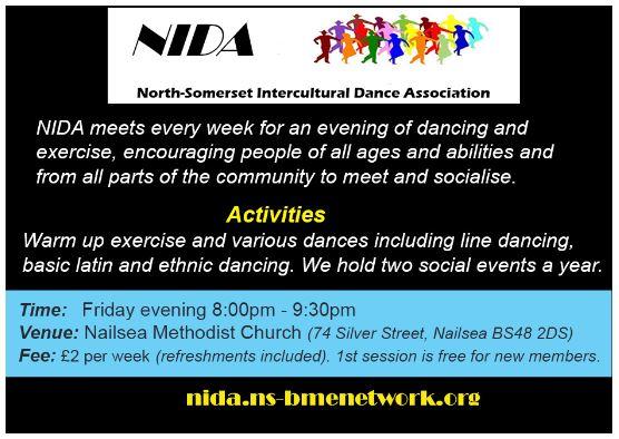 NIDA – North-Somerset Intercultural Dance Association