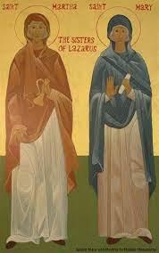 Ss. Martha & Mary of Bethany | THE DAILY FEAST