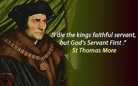 St Thomas More by Grania Egan | Sacred Heart Hook Catholic Church