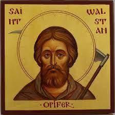 Saint Walstan of Bawburgh Orthodox Icon - BlessedMart