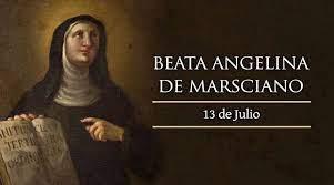 Beata Angelina de Marsciano, Viuda