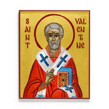Saint Valentine Icon from Legacy Icons
