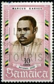 Stamp: Marcus M. Garvey (Jamaica) (National Heroes) Mi:JM 302,Sg:JM 301    Post stamp, Stamp, Jamaicans