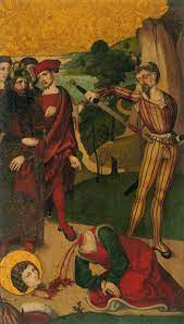 The Beheading of St Agapitus of Praeneste (interior) by UNKNOWN MASTER,  Swiss