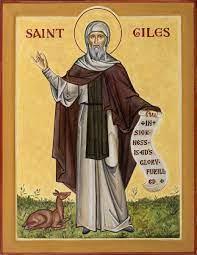 St Giles - Aidan Hart Sacred Icons