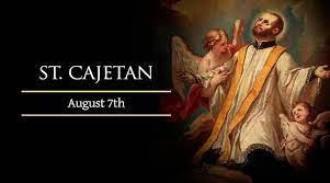 All about Saint Cajetan