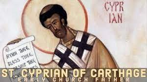 Saint Cyprian Of Carthage - YouTube